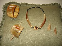 Beautifully Handcrafted African Horn Jewelry