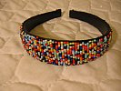 African Beaded Hair Band