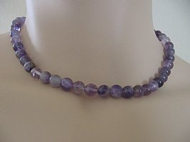 African Amethyst Necklace